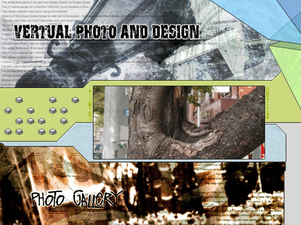 Photo gallery design
