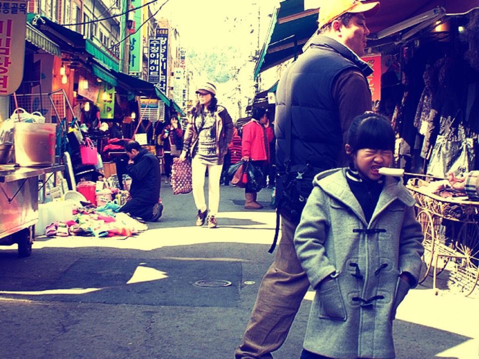 시장의 거리