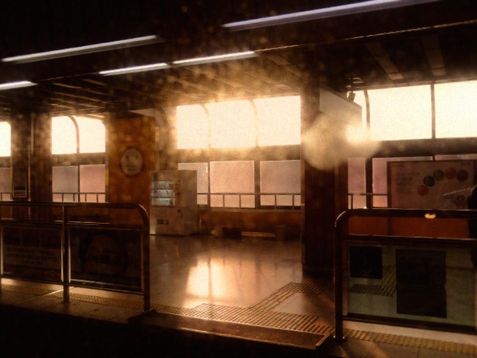 지하철역의 모습