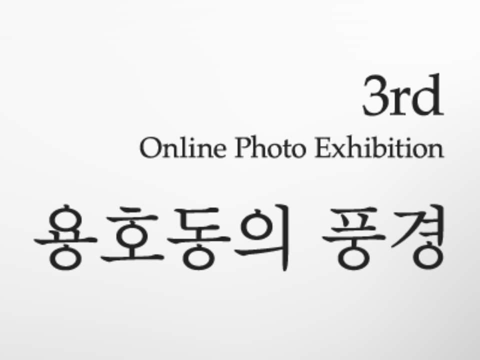 "3rd online ptoho exhibition ""용호동의 풍경"""