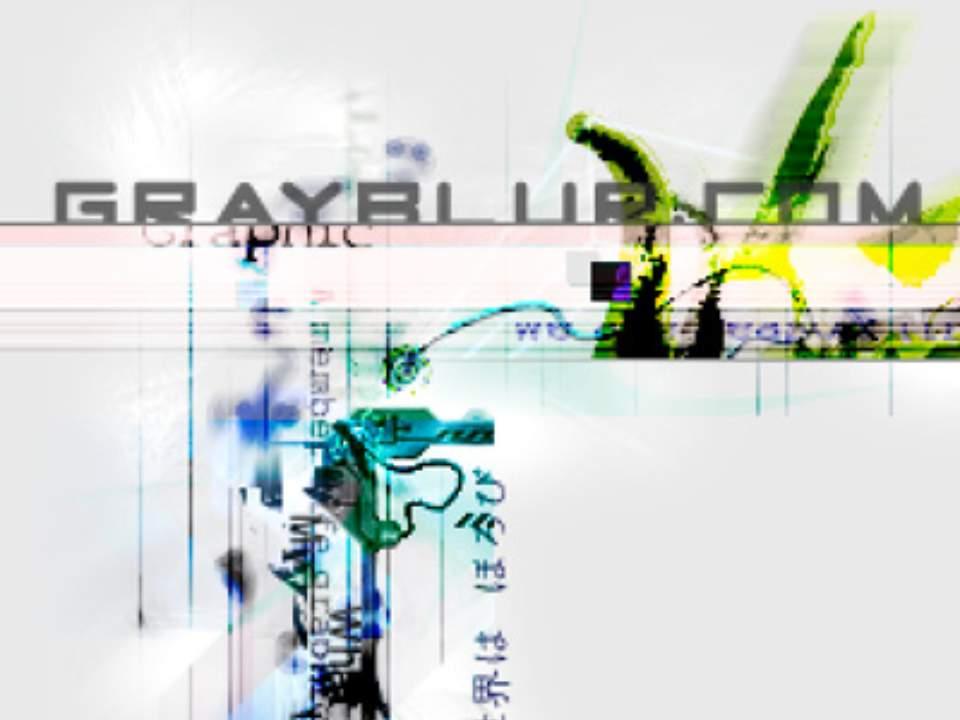 중단된 grayblur.com 사이트 디자인