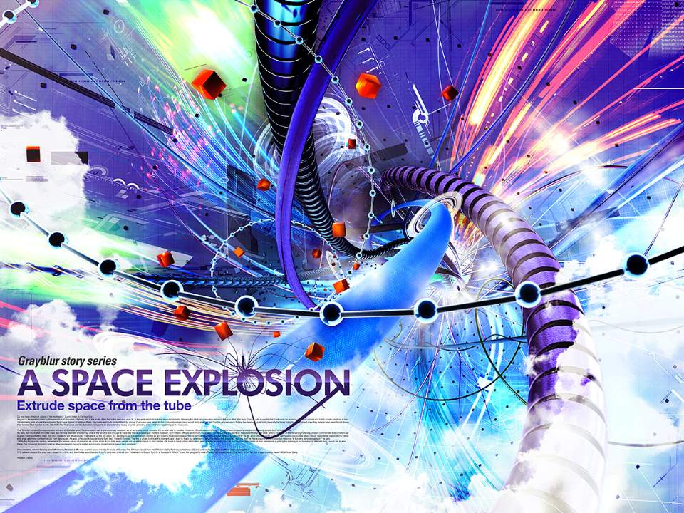 A Space Explosion