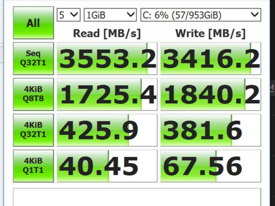 잠시 비교해보는 SSD 벤치마크