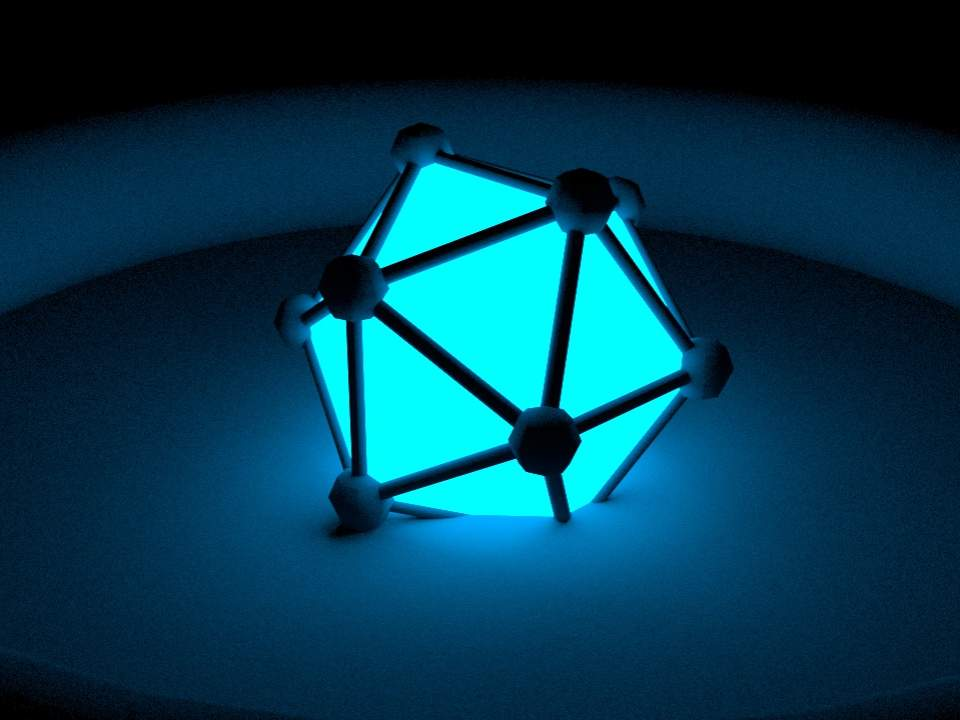 [c4d] redshift Incandescent 라이트 테스트