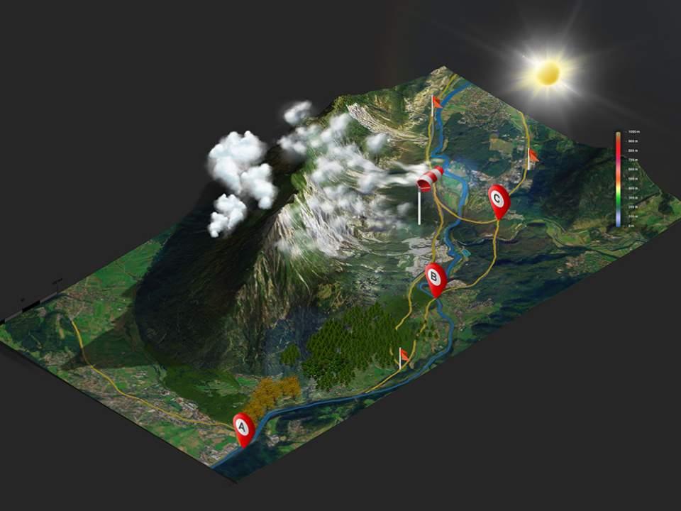 3D map study work no.001