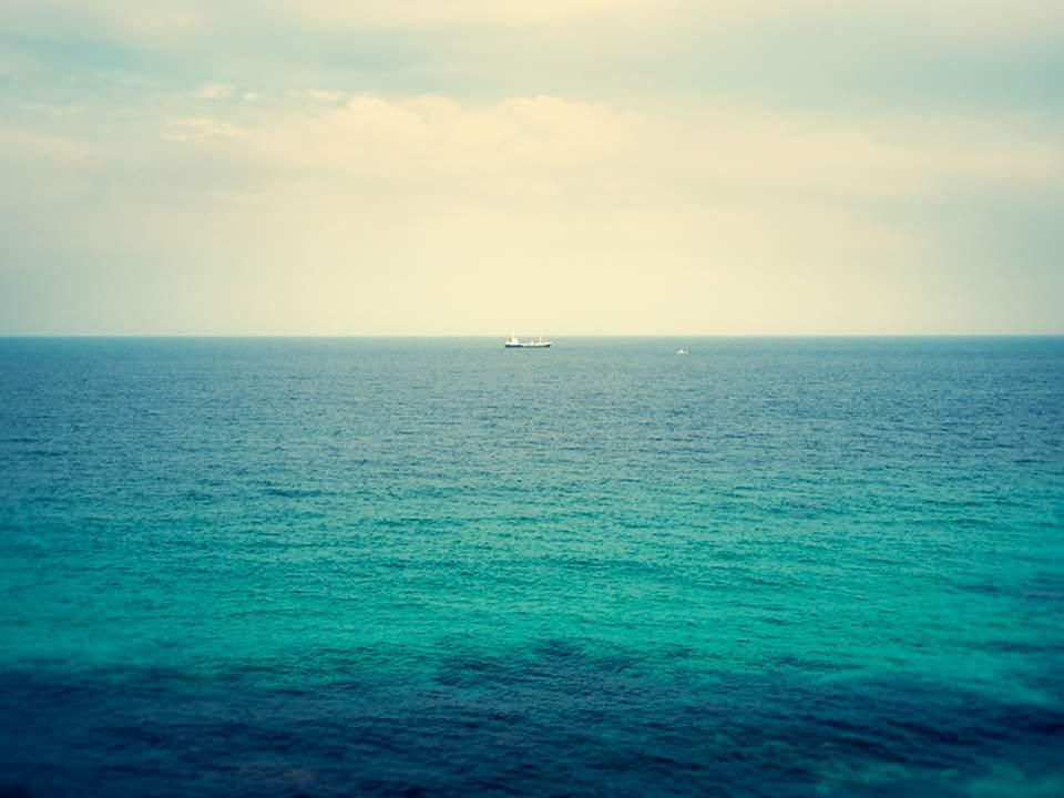 수평선 보기