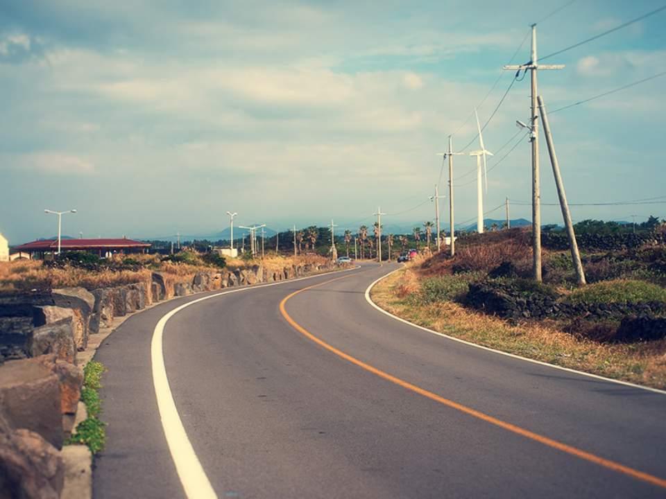끝없는 도로