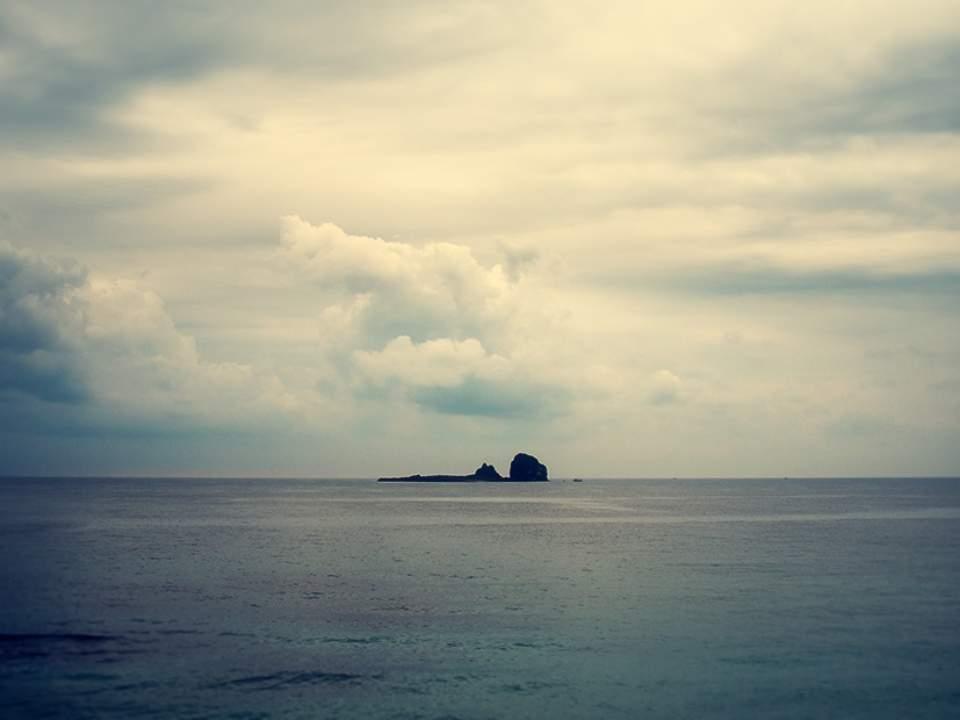섬 바라보기