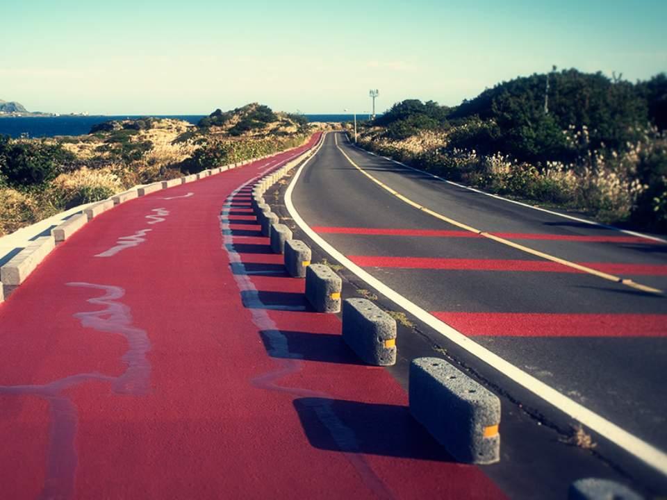 바다앞 도로