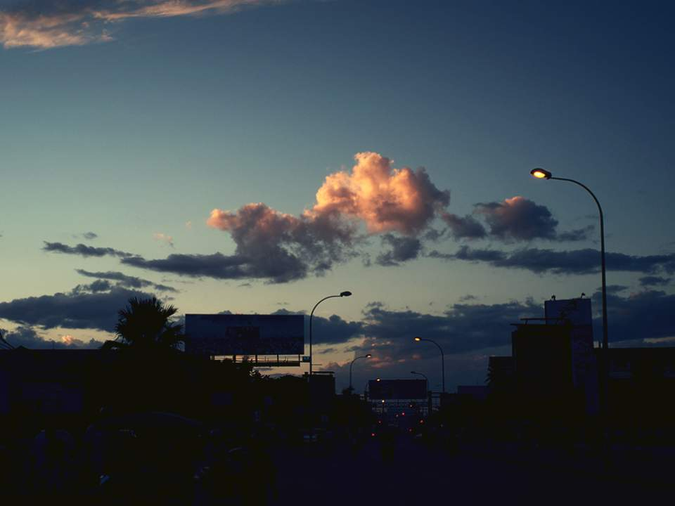 마지막날의 하늘