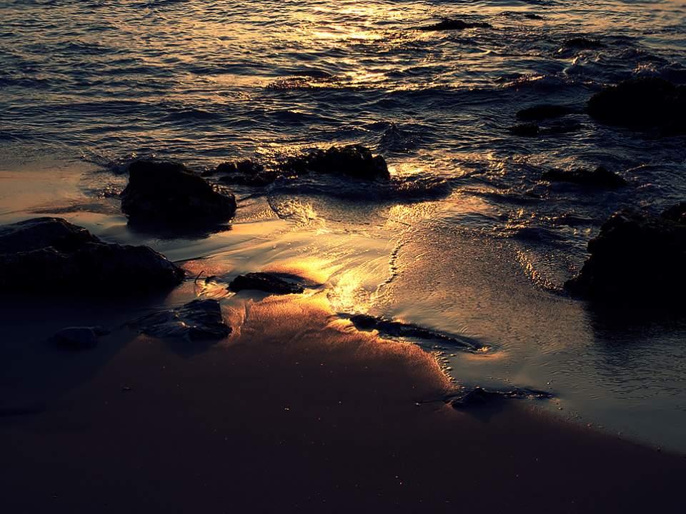 추암의 바다
