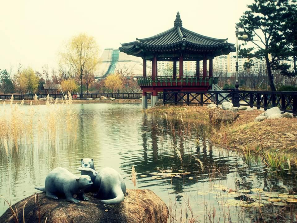 한가한 공원