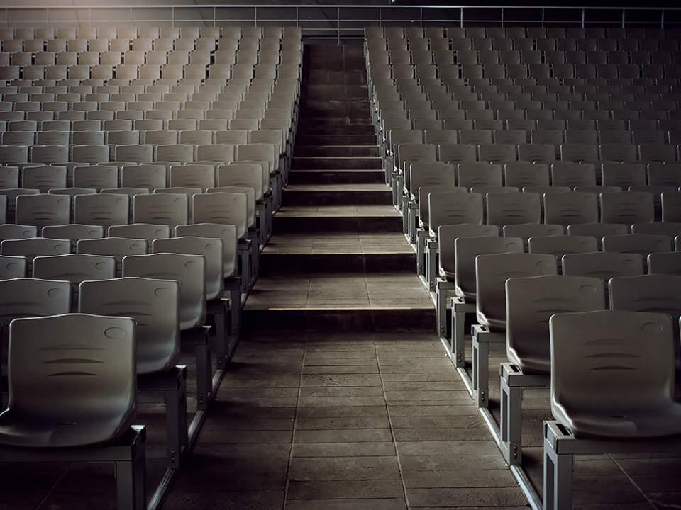 영화의 전당에서 본 의자들..