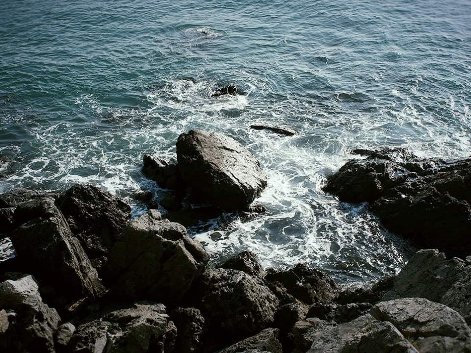 바다의 작은부분