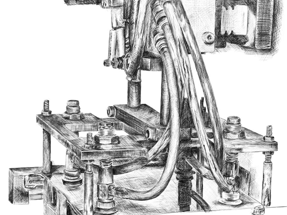 공장에서 본 기계