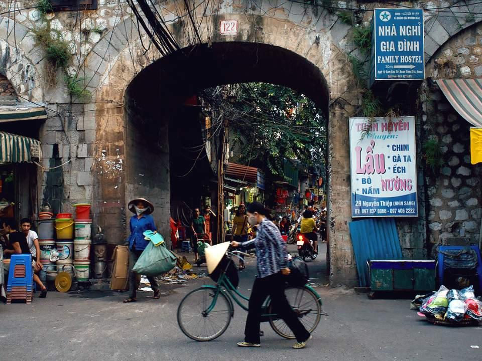 작은 터널에서의 움직임