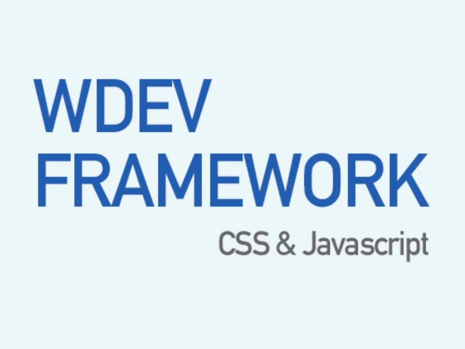 WDEV Framework