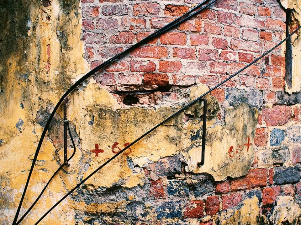 벽의 일부분