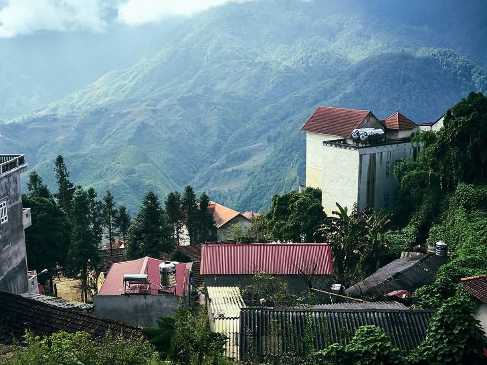고지대의 마을