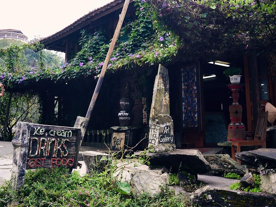 사파 마을의 모습중 일부분..