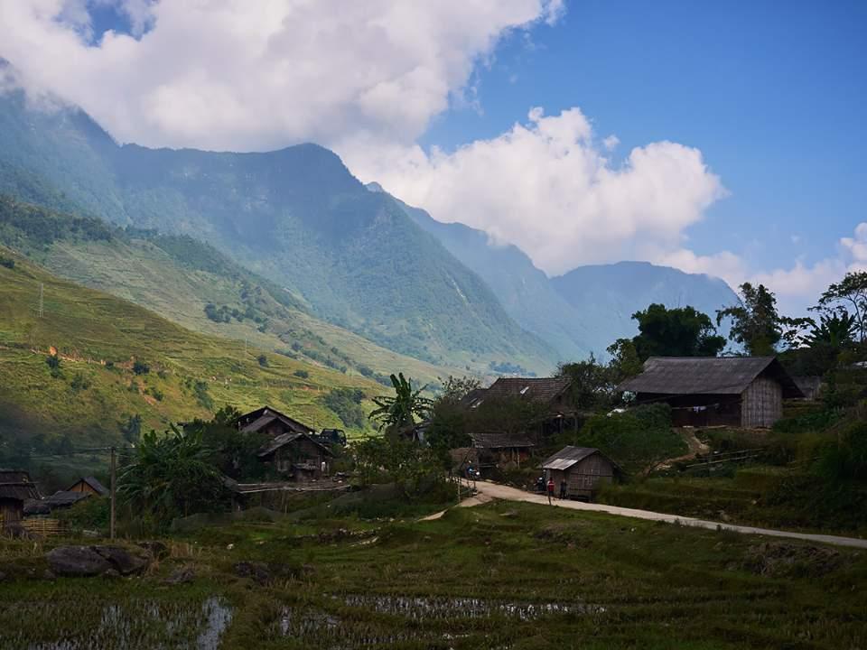작은 마을의 모습