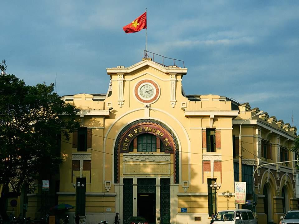 하이퐁에서 본 건물들