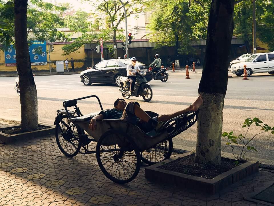 하이퐁 거리의 모습