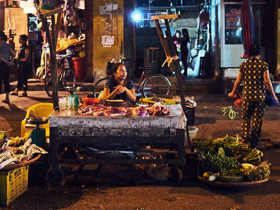 하이퐁의 밤 풍경
