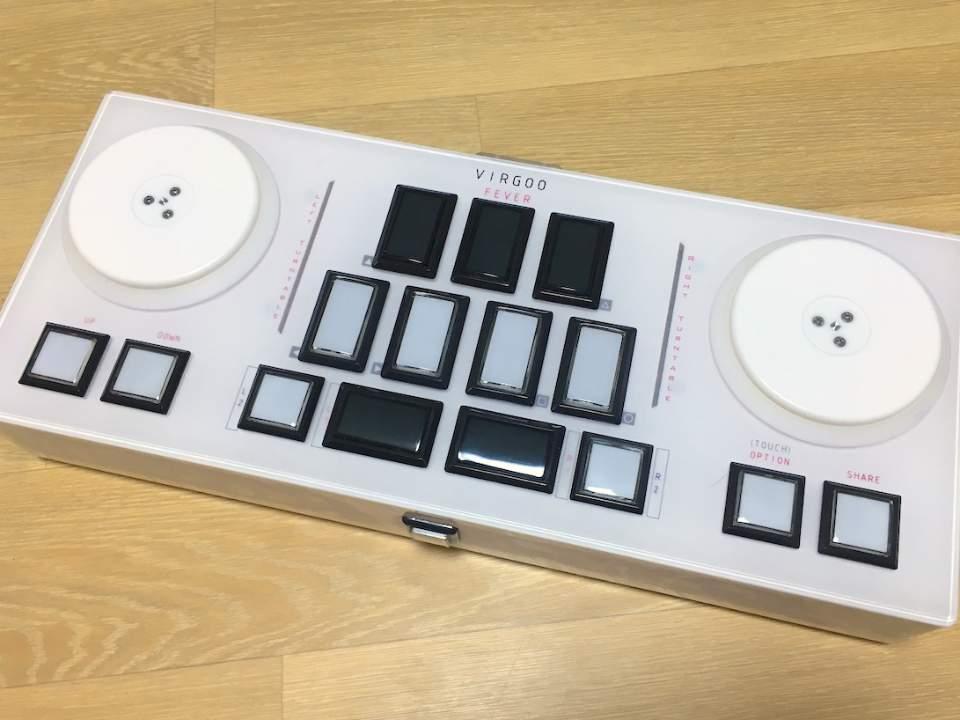 리듬게임 컨트롤러 VIRGOO FEVER