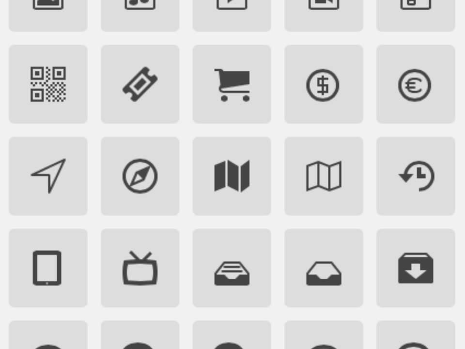 Icons (아이콘 모음)