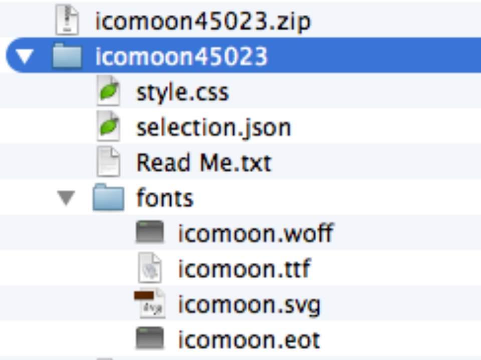 """icon font 제작 """"아이콘폰트를 서버에 올리고 적용시키기"""""""
