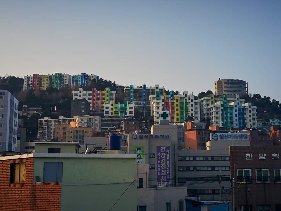 알록달록한 건물들