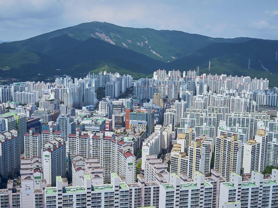 해운대의 모습
