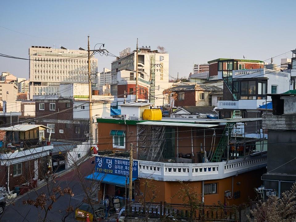 남한산성에서 내려오는 길