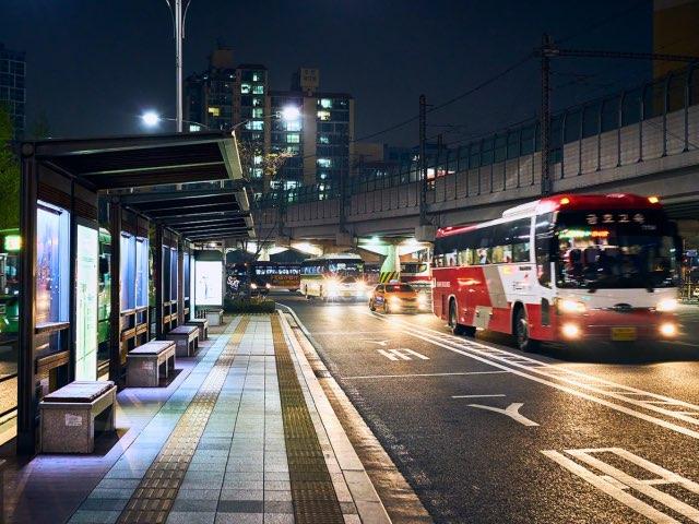 강변역 주변 버스정류장