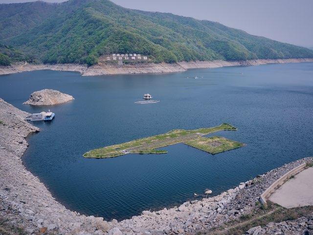 소양강댐의 모습들