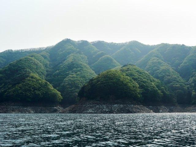 작은 산들의 모습