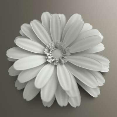 에전에 꽃 모델링을 자주 시도했었다.