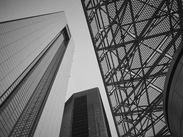 솟아오른 빌딩들