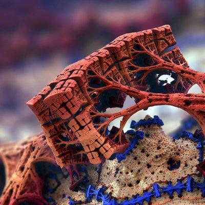 프랙탈(fractals) 스타일의 디자인