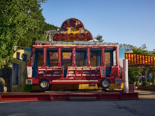 공원의 버스