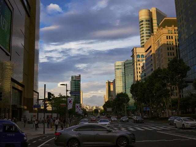 하늘과 도시